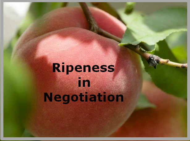 Ripeness in negotiation