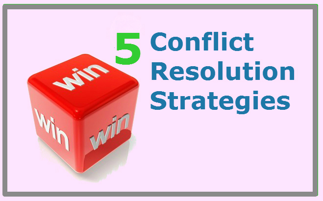 5 conflict resolution strategies