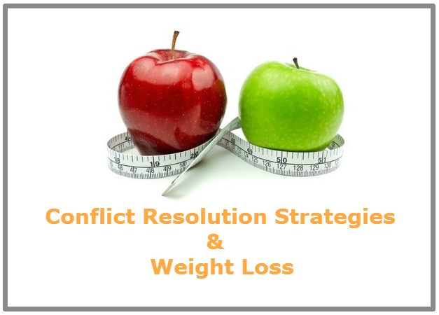 Conflict resolution strategies and weight loss